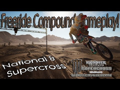 Freeride Compound in Supercross The Game! | National & Supercross Gameplay!