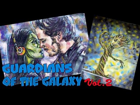 Стражи Галактики 2 ❀ Рисунки подписчиков ❀ Marjan Ashram