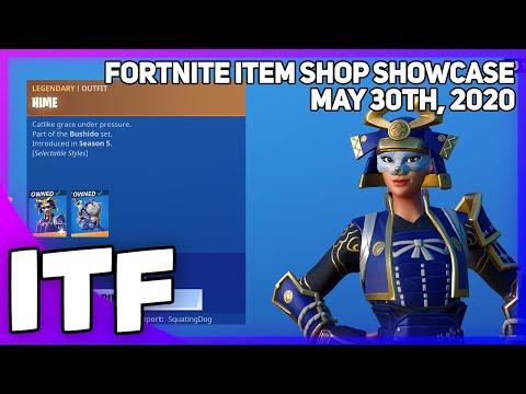 Fortnite Item Shop HIME IS BACK! [May 30th, 2020] (Fortnite Battle Royale)