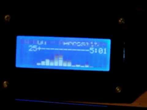 16x2 LCD, VU Meter, FFT Spectrum Analyser, IR Receiver    | Doovi
