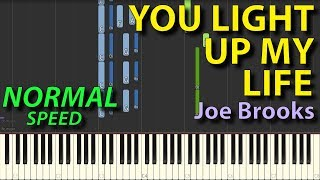 Video You light up my life  NORMAL Piano tutorials Gravity Falls Synthesia download MP3, 3GP, MP4, WEBM, AVI, FLV September 2018