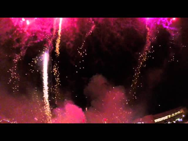 2014 Fireworks in Reverse. Youre Welcome.