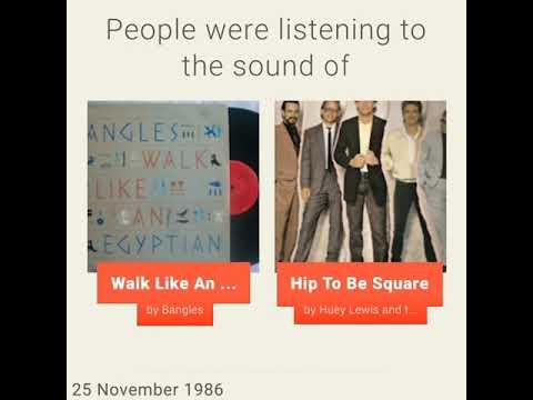 November 25, 1986 - This day in 30 sec. - Takemeback.to