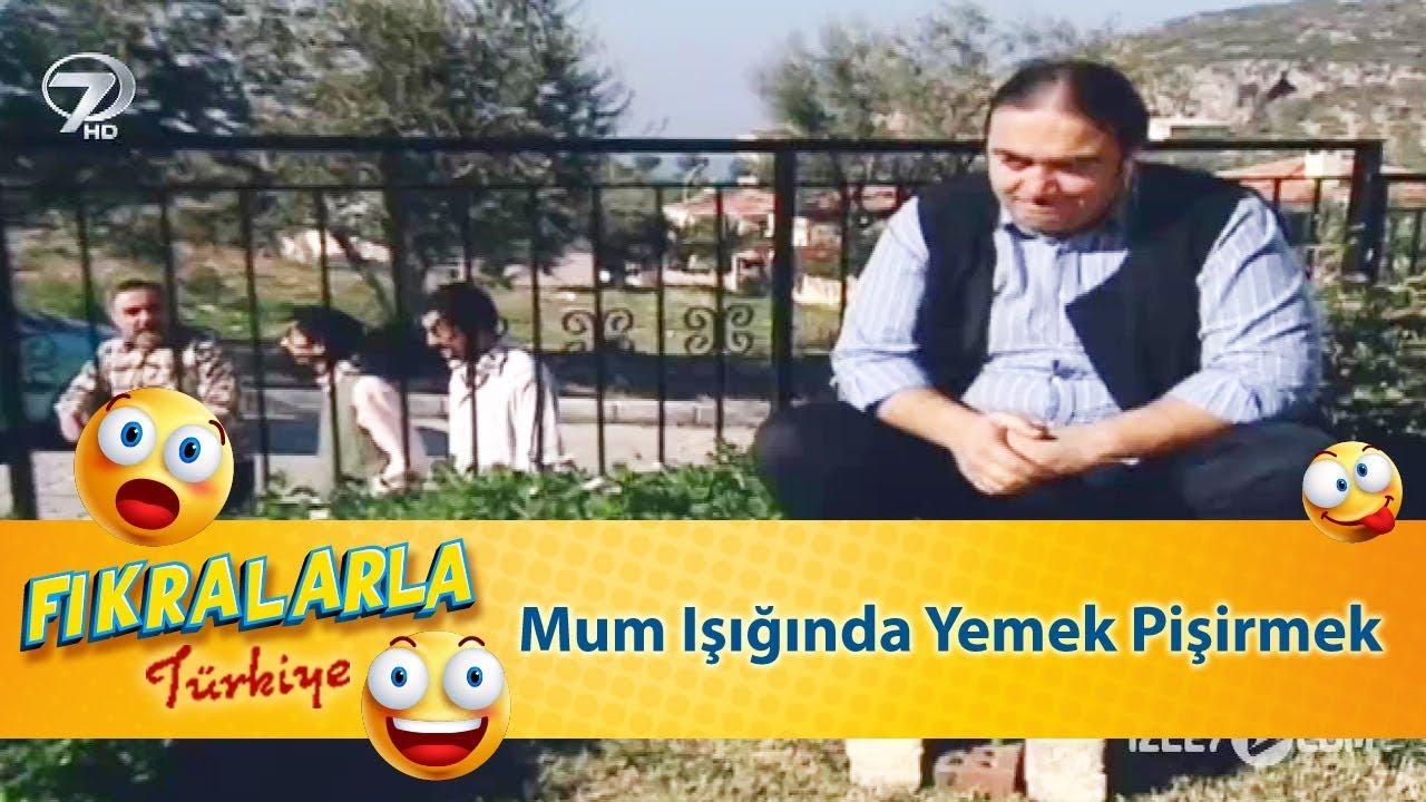 Mum Işığında Yemek Pişirmek - Türk Fıkraları 343