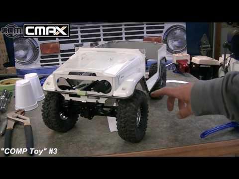 "GCM CMAX ""COMP Toy"" #3 Video Build - Tube Bending Tips"