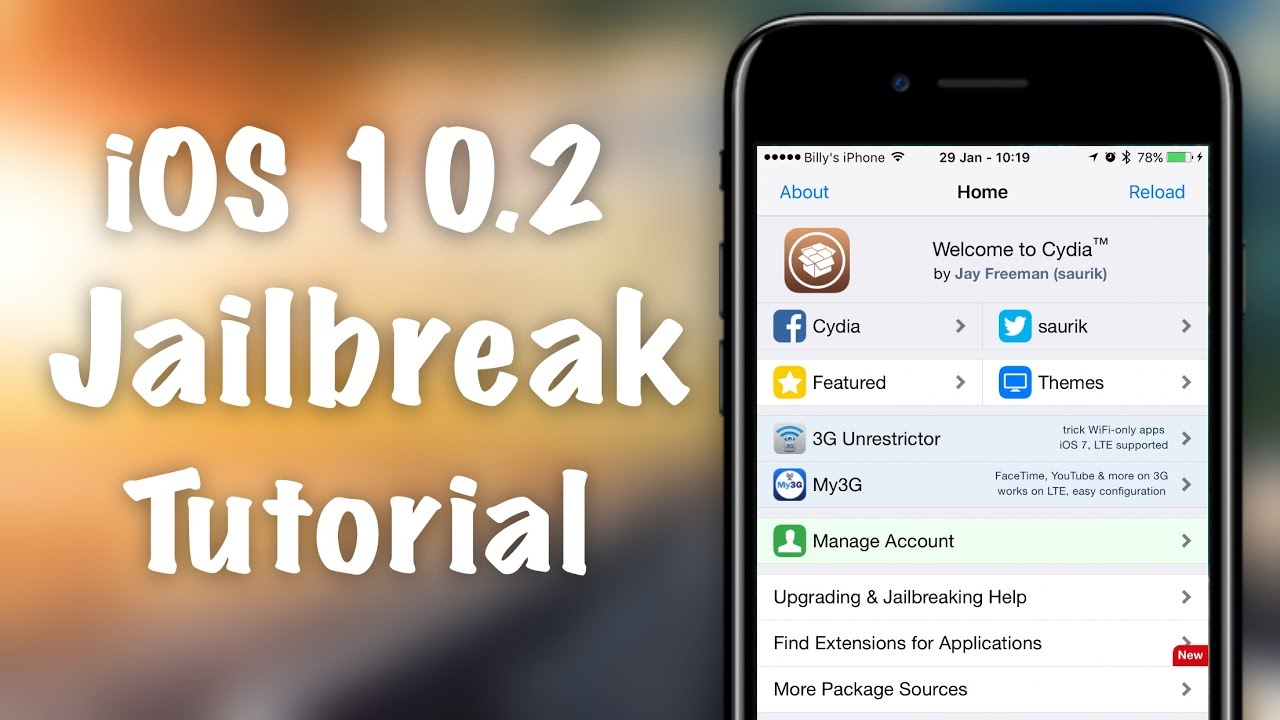 How to Jailbreak iOS 10 2 - iPhone 6S, iPhone 6, iPhone SE, iPad Pro
