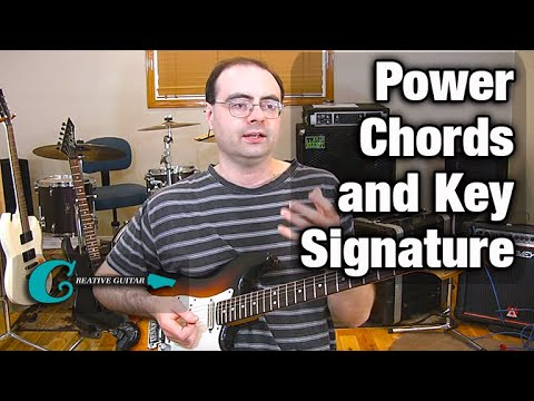 Finding Key Center when using Power Chords