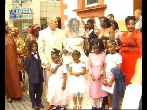 AFRO EUROPEAN WEDDING