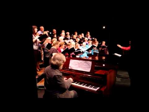 Morten Lauridsen and the San Juan Singers Live at the Friday Harbor Film Festival