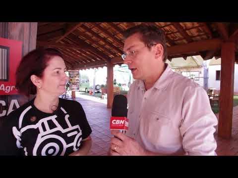 Entrevista CBN Agro: Luci Duarte Campo Grande Expo
