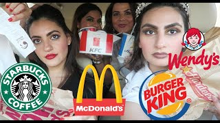 Letting The Person in FRONT of Me DECIDE What I Eat for 24 HOURS in Dubai !