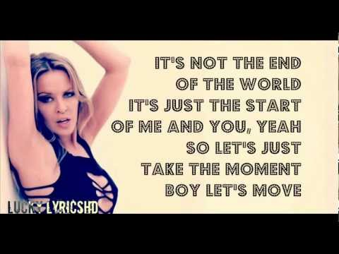 Kylie Minogue - Timebomb [LYRICS]