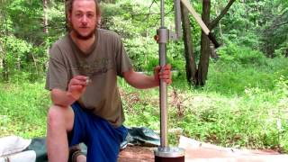 Simple Pump Deep Well Hand Pump Install 2 People No Electric Well Pump