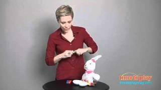 Color & Cuddle Washable Bunny From Alex Toys
