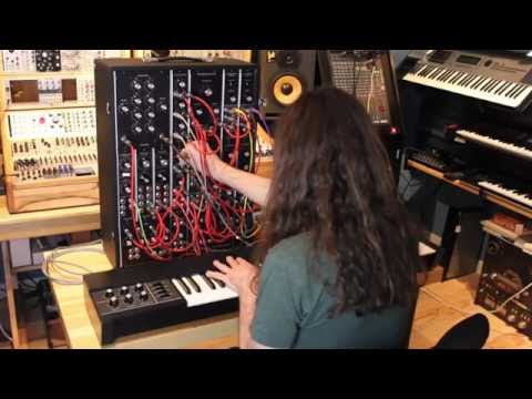 Synth City Presents a live Moog Model 15 session