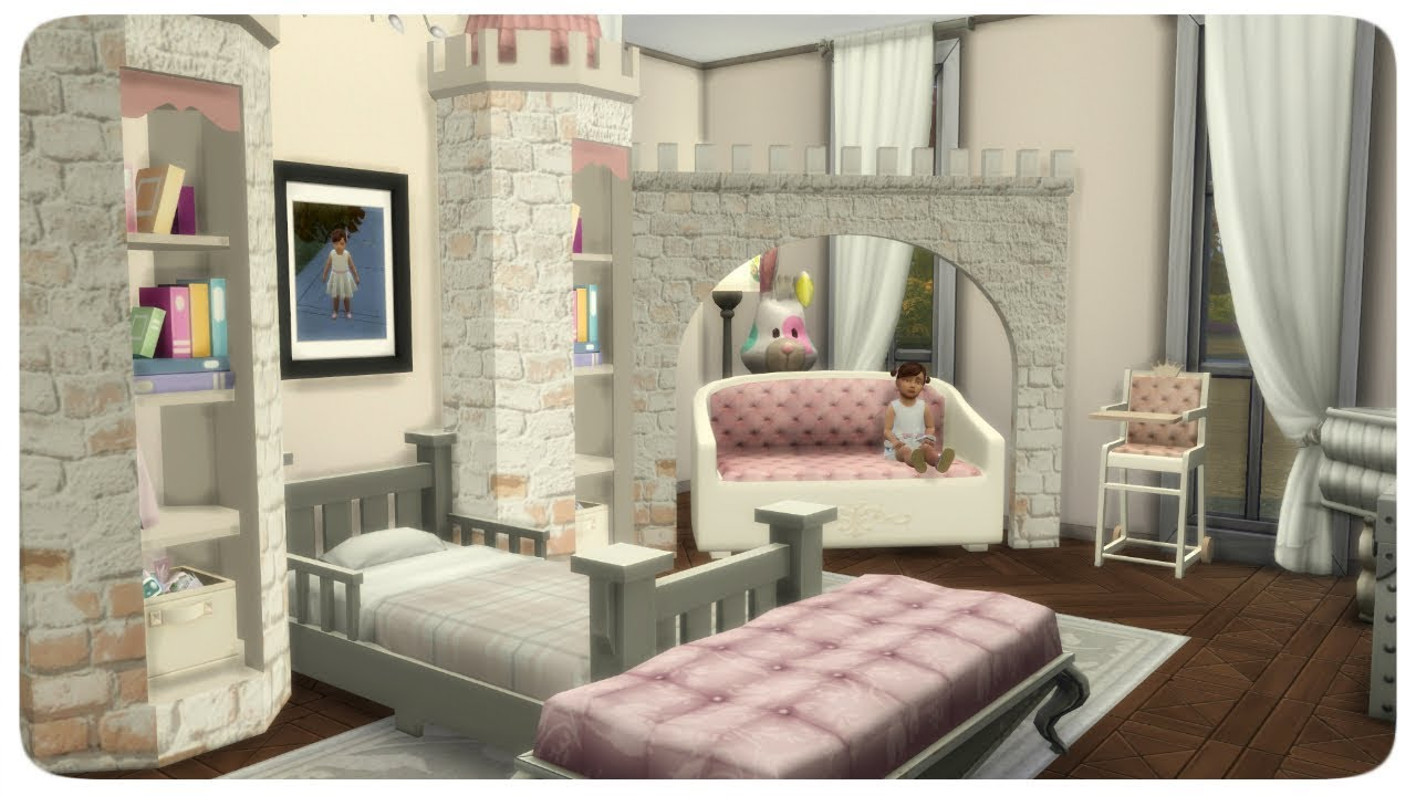 The Sims 4 Royal Princess Toddler Bedroom Room Build