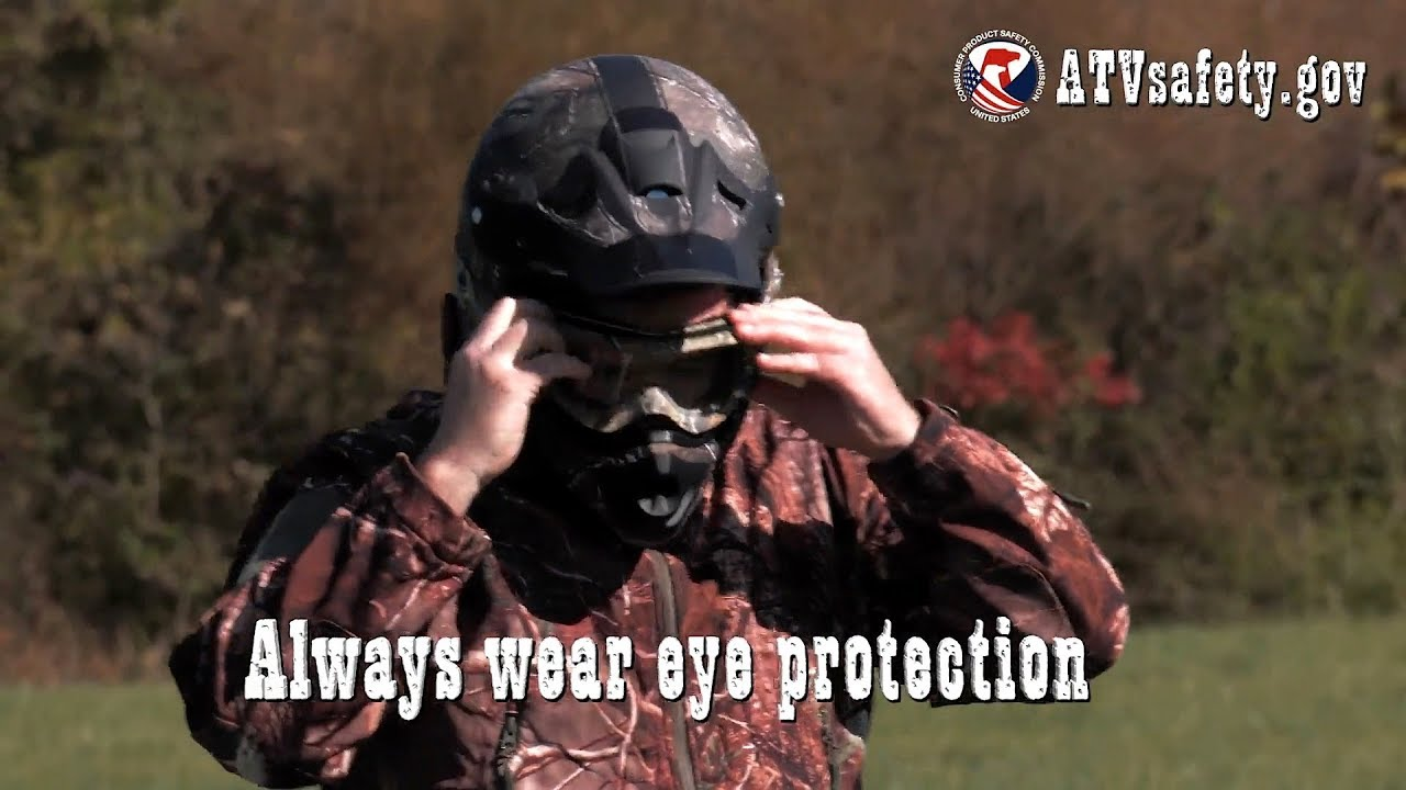 ATV Safety: Eye Protection