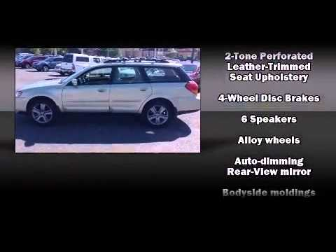 2006 subaru outback 3 0 r l l bean edition youtube. Black Bedroom Furniture Sets. Home Design Ideas
