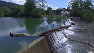 Brunshire Dam and the Shenandoah River