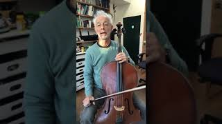 Cello with Timothy Kraemer - warm up exercise for A Major scales at intermediate level