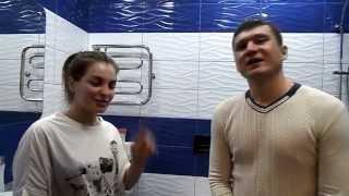 Екатеринбург. видеоотзыв о ремонте ванной комнаты