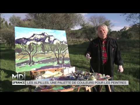 VU D'ICI : Les Alpilles, une palette de couleurs pour les peintres