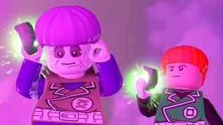 LEGO BATMAN 3 - Green Zarro & Guy Gardner FREE ROAM GAMEPLAY (Bizarro DLC)
