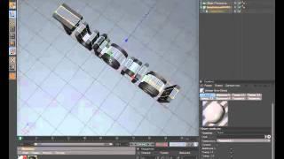 Видео-урок #2 как сделать спрей в CINEMA 4D