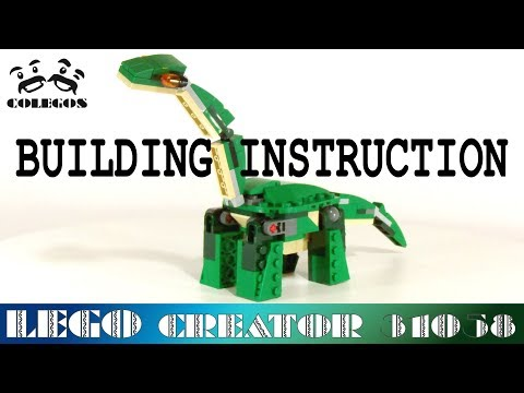 Dinosaur Lego Instructions