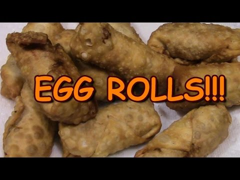 Home Made Egg Rolls & A trip to an Asian Market!