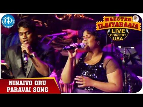 Maestro Ilaiyaraaja Live Concert - Ninaivo Oru Paravai Song - Yuvan Shankar Raja
