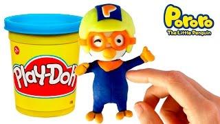 Video Pororo the little penguin Stop Motion Play Doh claymation plastilina playdo video download MP3, 3GP, MP4, WEBM, AVI, FLV April 2018