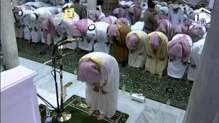 Repeat youtube video 21st Ramadan Dua al-Qunoot in Witr Prayer 2014 By Sheikh Sudais Night 21 1435 AH