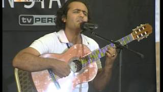 Reza Shirkani - First great performance,TV Persia one, Next Persian Star, 2009 10 14