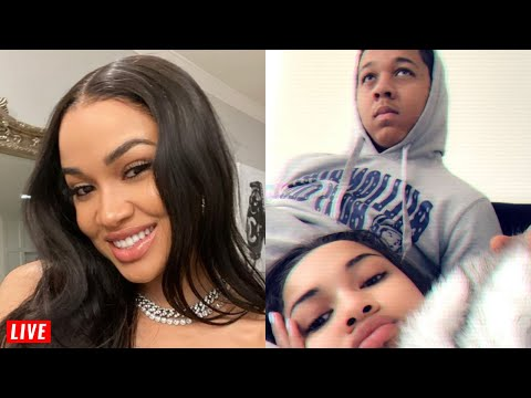 Ex GF Of Rapper Lil Bibby Says He's OBSESSED W/ Dating White Girls LIVE