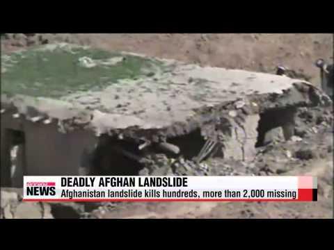 Afghanistan landslide kills hundreds, more than 2,000 missing