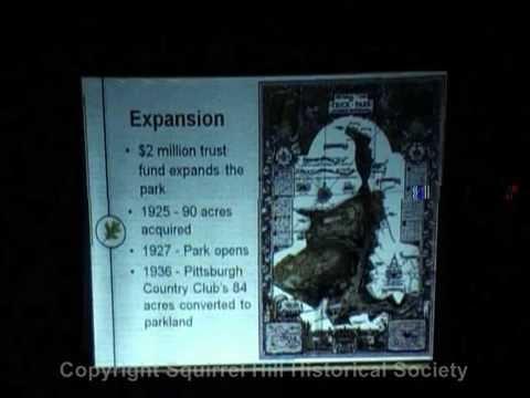 2010 07-13 History of Frick Park