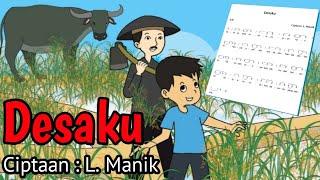 Desaku | Ciptaan L. Manik - Lagu Tematik