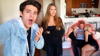My Sister Caught Her Boyfriend Doing This! (*CRAZY DARES)