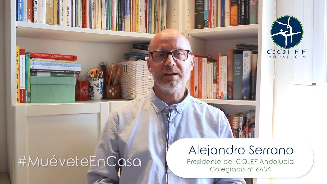 #MuéveteEnCasa con el COLEF Andalucía