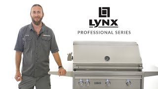 Lynx Professional Series All Infrared Trident Gas Grill Overview | BBQGuys