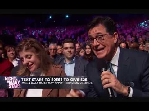 Stephen Colbert Addresses Carly Fleischmann Incident Live [HBO's Night of Too Many Stars]
