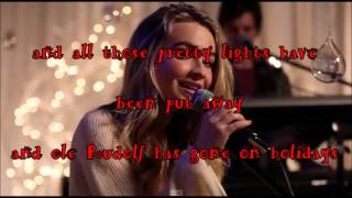 Christmas the Whole Year Round-Lyrics- Sabrina Carpenter