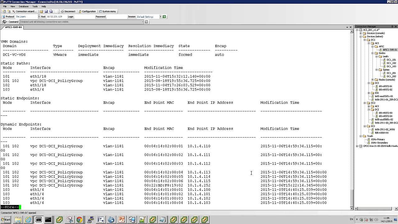"""DEMO: Cisco ACI NX-OS CLI - Cisco ACI as a """"Giant Switch"""""""