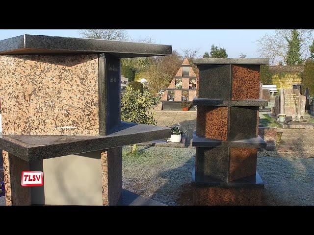 Luçon : un nouveau columbarium pour l'inhumation d'urnes