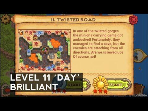 Cursed Treasure 2 - Level 11 - Twisted road (DAY) BRILLIANT  