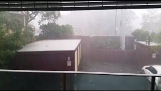 Brisbane Hailstorm 2014