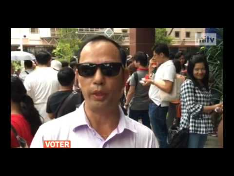 mitv - Voting In Singapore: Myanmar Citizens Cast Votes For The Third Day