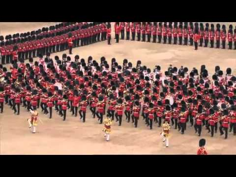 4 Trooping the Colour - Escort to the Colour