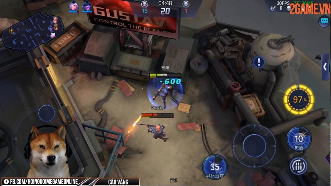 Trải nghiệm Speedy Gunfire: Striking Shot – Game MOBA bắn súng có tiết tấu nhanh gọn
